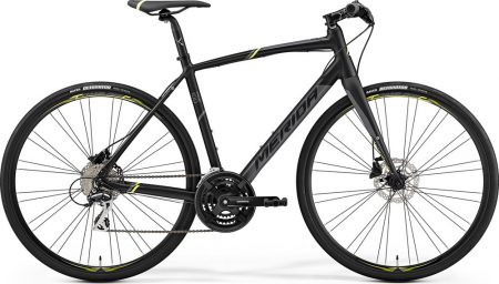 Merida Speeder 100 S/M (50cm) matt fekete (sárga-szürke) 2019