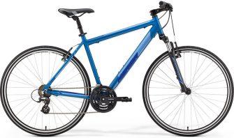 Merida Crossway 10-V M/L (52cm) selyem kék (ezüst/sötétkék)