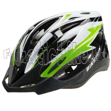 Bikefun Cobber L (58-61cm) fekete-zöld