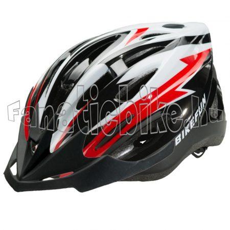 Bikefun Cobber S (52-55cm) fekete-piros