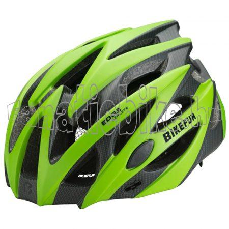 Bikefun Edge L (58-61cm) zöld-karbon