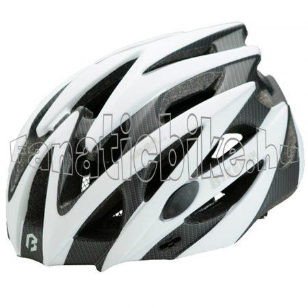 Bikefun Edge L (58-61cm) fehér-karbon