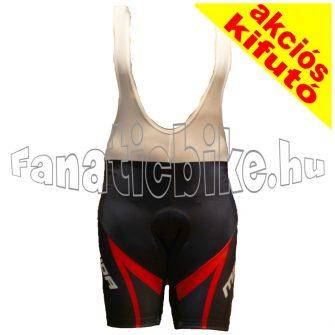 Merida XL rövid kantáros nadrág piros-fekete