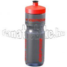 Gepida kulacs 800 ml szürke-piros