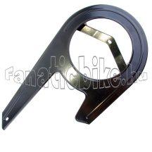 Kemping fém zárt láncvédő 46T fekete