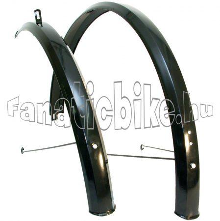 """28"""" 54mm fém sárvédő fekete"""
