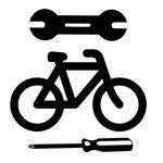 Elsőkerék gumizás dobfékes kerékpáron