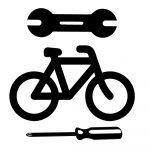 Elsőkerék gumizás elektromos kerékpáron