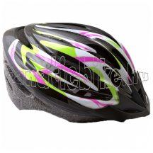 EPS sisak L 56-58cm fekete-zöld-rózsaszín-fehér