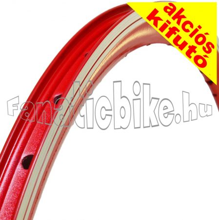 MTB duplafalu abroncs 36ly piros