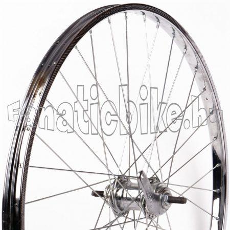 28x1 1/2 kontrafékes hátsó kerék (acél Beretta abroncs, Cseh agy)