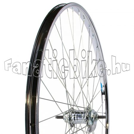 28x1,75 (22-622mm) kontrafékes hátsó kerék (acél abroncs, Cseh agy)