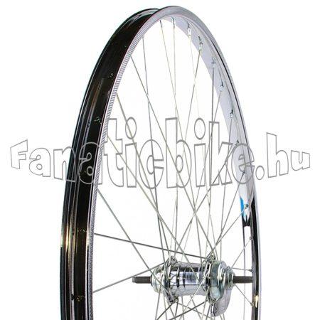 24x1.3/8 kontrafékes hátsó kerék (acél abroncs, Cseh agy)