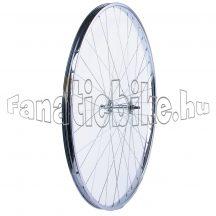 Első kerék (22-622mm) szimplafalú acél abroncs, acél agy