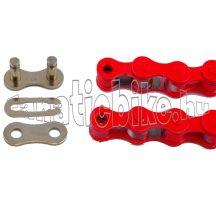 KMC Z-410 1/2X1/8 110 szem lánc piros