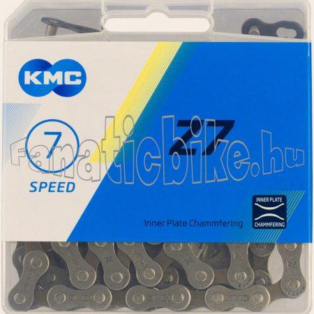 MTB Z 50 dobozos lánc 5-6-7 sebességes (1/2x3/32x116l) + patentszem
