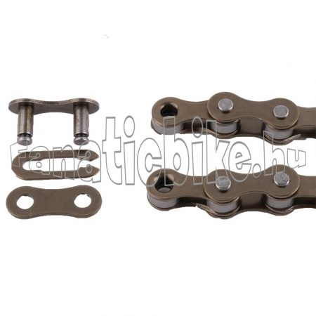 Normál CN 1 sebességes (1/2x1/8x114) lánc + patentszem