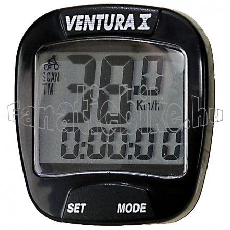 Ventura 10 funkciós computer fekete