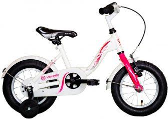 """Koliken Kid Bike 12"""" kontrafékes kerékpár fehér-pink"""