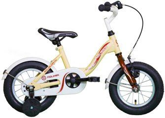 """Koliken Kid Bike 12"""" kontrafékes kerékpár krém-bordó"""