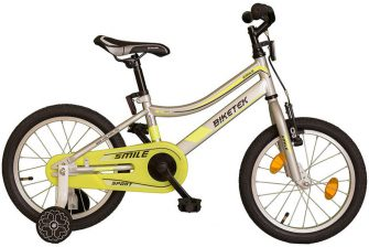 "Koliken Biketek Smile 16"" ezüst-neon"