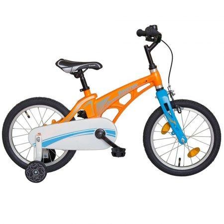 """Biketek Magnézium 16"""" narancs-kék"""