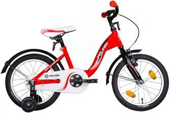 """Koliken Kid Bike 16"""" piros-fekete"""