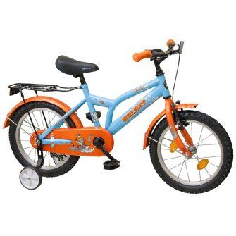 "Koliken Cool Boy 16"" kontrafékes világoskék-narancs"