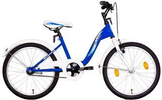 "Koliken Kid Bike 20"" kék-fehér"
