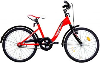 """Koliken Kid Bike 20"""" piros-fekete"""