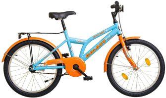 """Koliken Cool Boy 20"""" kontrafékes, kék-narancs"""