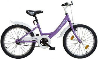 """Koliken Leila 20"""" gyerekkerékpár lila"""