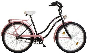 """Koliken Colour Cruiser 26"""" túra női rózsaszín-fekete"""