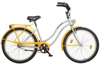 """Koliken Colour Cruiser 26"""" túra női sárga-szürke"""