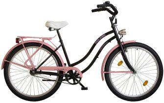 """Koliken Colour Cruiser 26"""" komfort női rózsaszín-fekete"""
