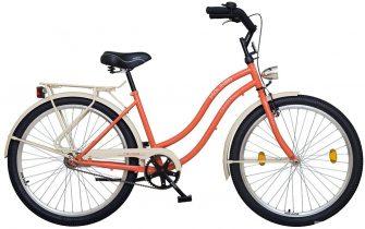 "Koliken Colour Cruiser 26"" komfort női narancs"
