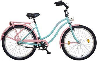 "Koliken Colour Cruiser 26"" komfort női rózsaszín-türkiz"