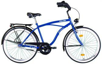"Koliken Cruiser túra 26"" férfi kerékpár kék"