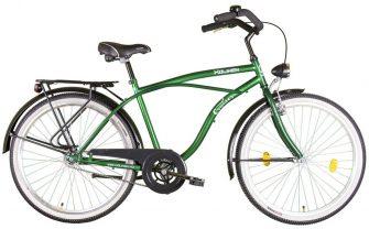 "Koliken Cruiser túra 26"" férfi kerékpár zöld"