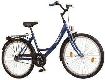 """Koliken Biketek 26"""" túra kontrafékes női kerékpár kék"""