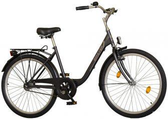 """Koliken Biketek Feliz 26"""" kerékpár grafit"""