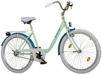 """Koliken Biketek Feliz 26"""" kerékpár zöld"""