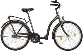 "Koliken Hunyadi 26"" kontrafékes kerékpár grafit"