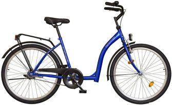 """Koliken Hunyadi 26"""" kontrafékes kerékpár kék"""