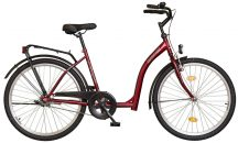"""Koliken Hunyadi 26"""" GR kerékpár piros"""