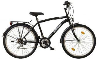 """Koliken Biketek 26"""" MTB férfi felszerelt kerékpár fekete"""