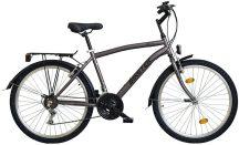 """Biketek 26"""" MTB férfi felszerelt kerékpár grafit"""