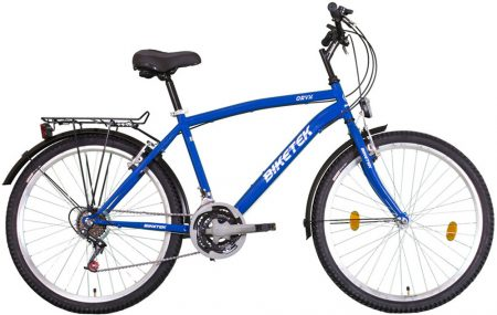 """Koliken Biketek 26"""" MTB férfi felszerelt kerékpár kék"""