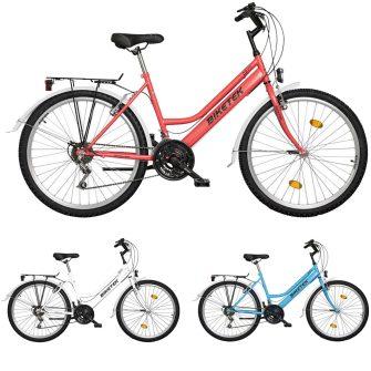 """Koliken Biketek Oryx 26"""" 18 seb női felszerelt kerékpár"""