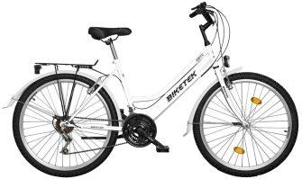 """Koliken Biketek Oryx 26"""" 18 seb női felszerelt kerékpár fehér"""
